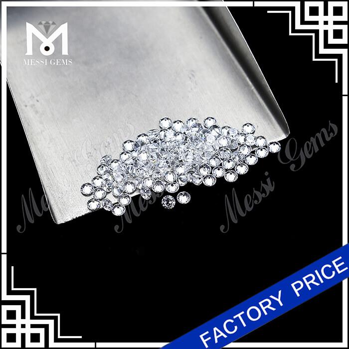 0.12 Carat Brilliant Cut DEF VVS White CVD diamond Synthetic lab created diamond stone