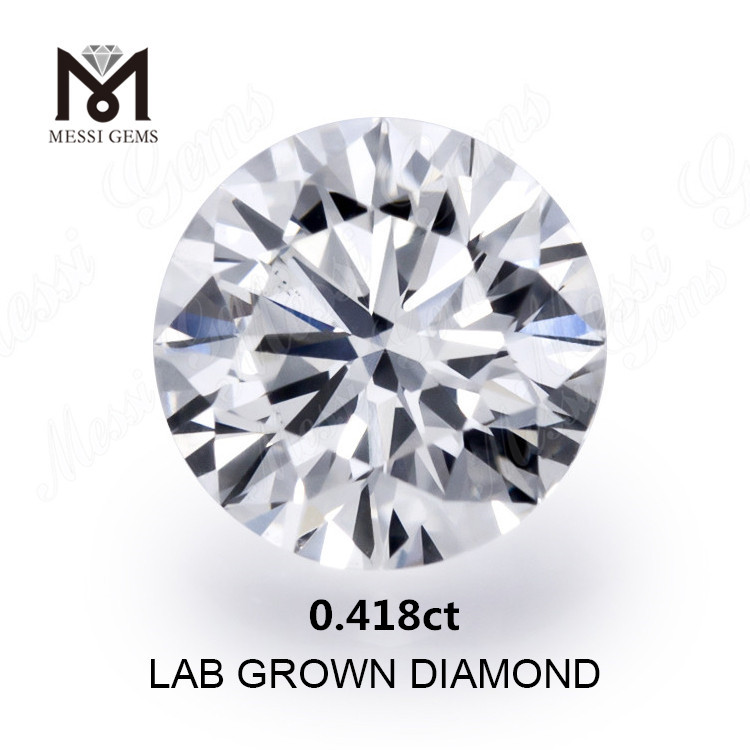 0.418ct created diamond white H VS2 Synthetic diamond