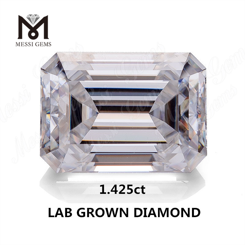 1.425ct lab made diamond white F VVS2 EX HPHT diamond